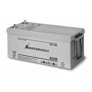 BATTERIE AGM 225Ah MASTERVOLT 522x240x241mm
