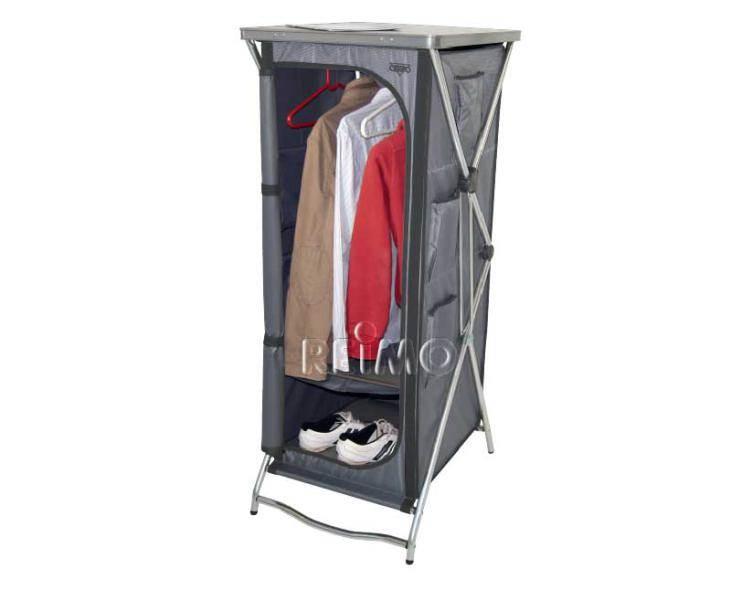 Meuble rangement haut crespo 4 tages ou penderie 60x55xh140cm Grilles etageres fines pour meubles de cuisines camping car