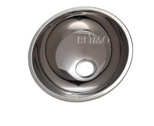 EVIER INOX ROND 260x130mm