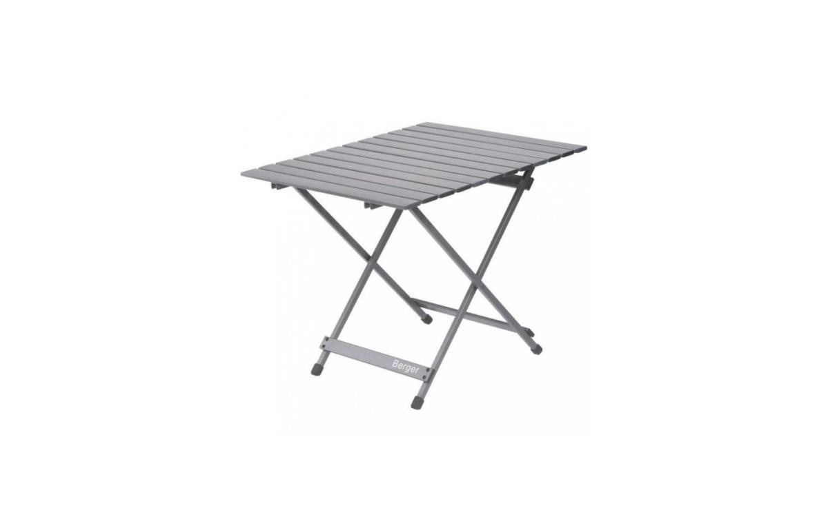 table alu pliante fritz 70x69cm. Black Bedroom Furniture Sets. Home Design Ideas