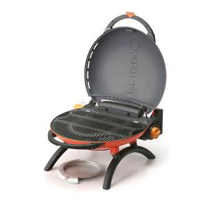 BARBECUE TRANSPORTABLE OGRILL A GAZ - ORANGE