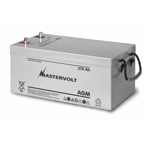 BATTERIE AGM 270Ah MASTERVOLT 522x268x220mm