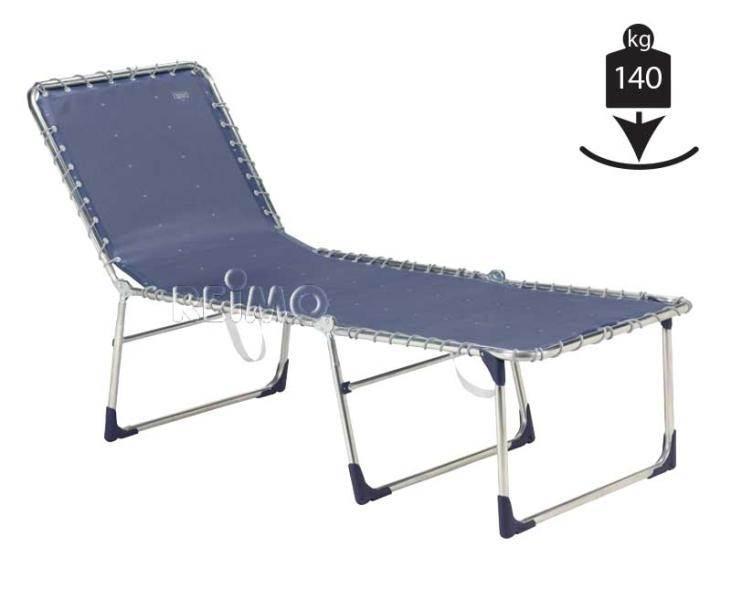 lit de plage supreme bleu crespo 205 x 69 x 48cm. Black Bedroom Furniture Sets. Home Design Ideas
