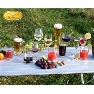 LOT DE 2 VERRES A JUS DE FRUITS polycarbonate - 440ml