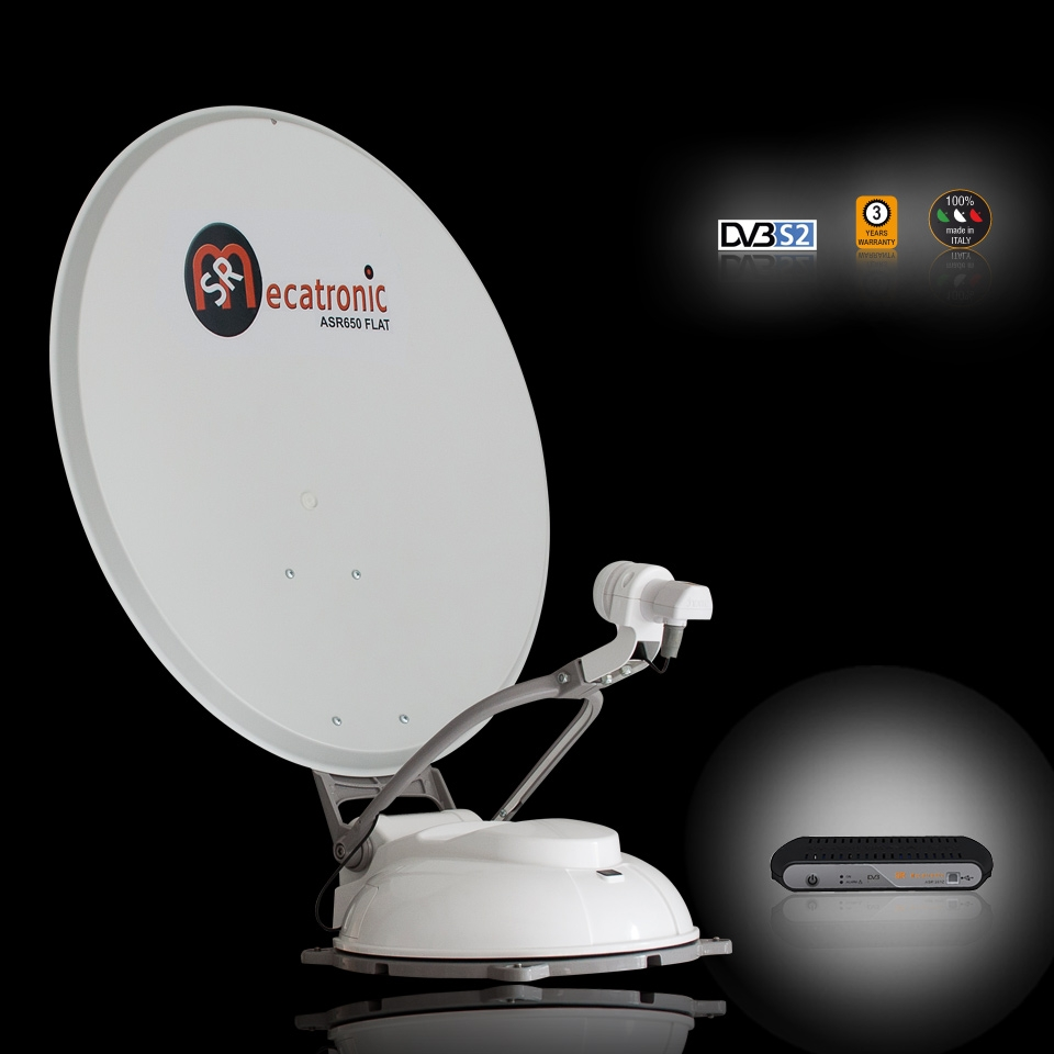 antenne satellite automatique asr650 flat 65 cm monosat astra 19 2 atlanticbird. Black Bedroom Furniture Sets. Home Design Ideas