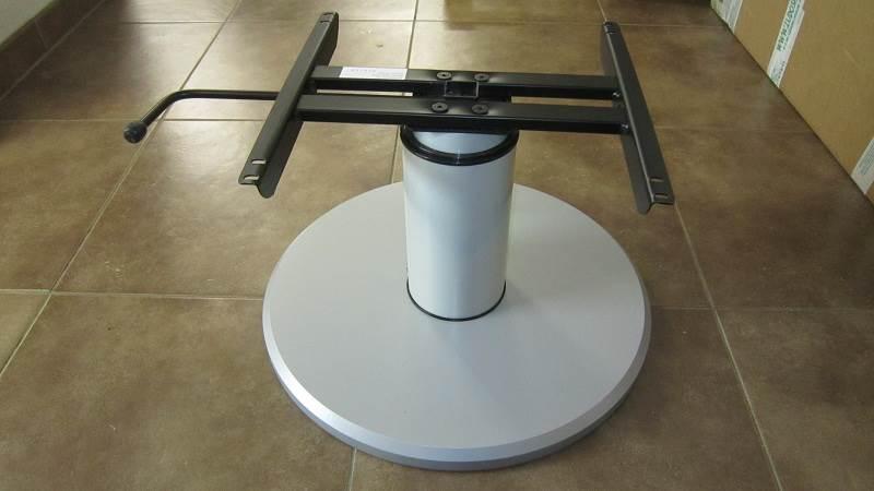 Pied de table colonne telescopique 318 693mm - Pieds de table reglable hauteur ...