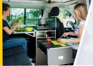 MEUBLE CUISINE CALICOOK VW T5/T6 CALIFORNIA BEACH, MULTIVAN...