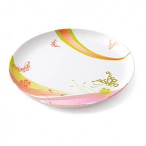 ASSIETTE PLATE 24CM MELAMINE PLASTOREX - DECOR POP