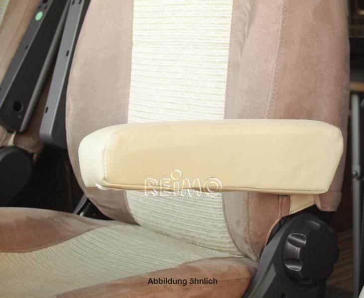 housse d 39 accoudoir droit similicuir beige. Black Bedroom Furniture Sets. Home Design Ideas