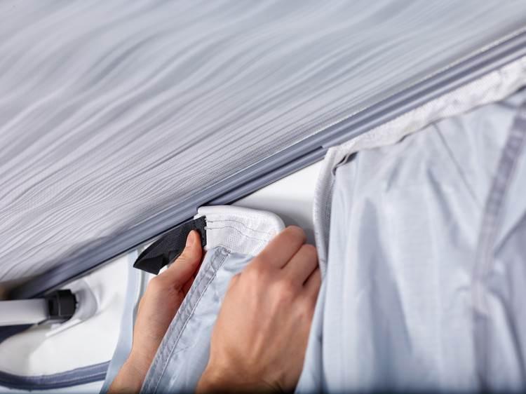 Kit fixation pour quickfit pour store de caravane for Store interieur pour caravane