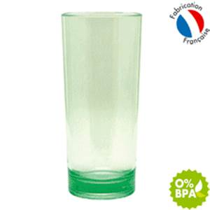 PACK 6 VERRES JUS DE FRUITS 33CL COPOLYESTER PLASTOREX
