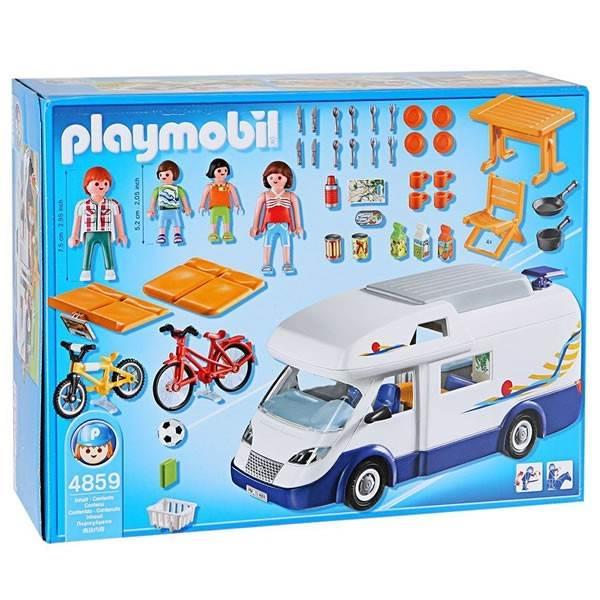 Playmobil camping car familial - Camping car playmobil pas cher ...