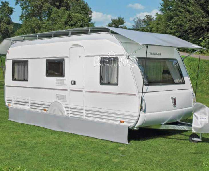 Protection toit caravane record 350 390 cm for Tettoia camper