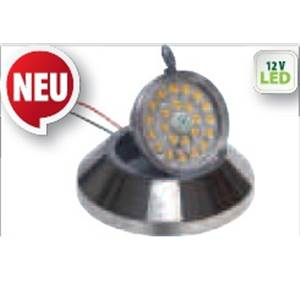SPOT INCLINABLE A LEDS 12v 1W AVEC TOUCHSYSTEM