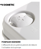 TOILETTE PORTABLE DOMETIC 972