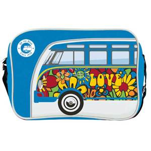 BESACE SAC BANDOUILLERE VW COLLECTION COLORIS BLEU/LOVE Design