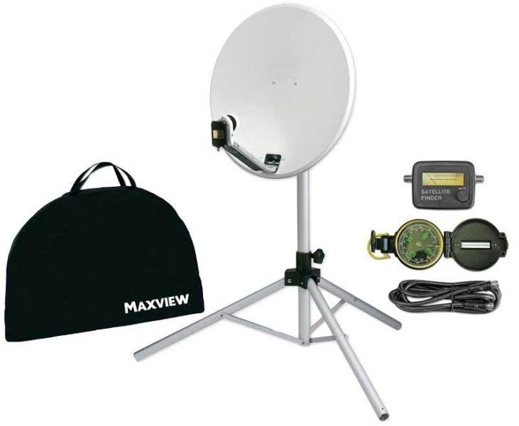 kit light parabole maxview. Black Bedroom Furniture Sets. Home Design Ideas