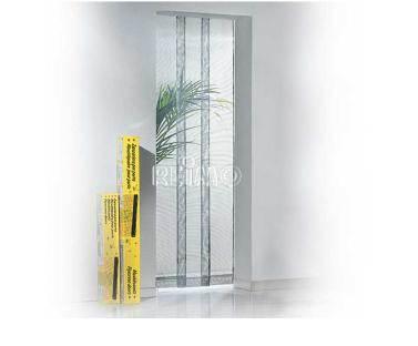 Moustiquaire de porte 4 panneaux 95x220 cm for Porte 4 panneaux