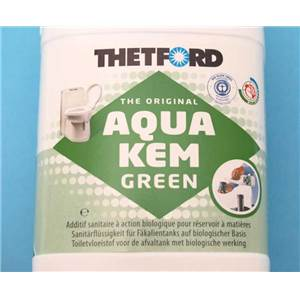 PRODUIT ADDITIF WC AQUA- KEM GREEN -30 L.