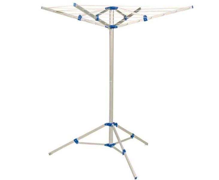 Sechoir linge 4 branches pliable berta - Seche linge electrique sur pied ...