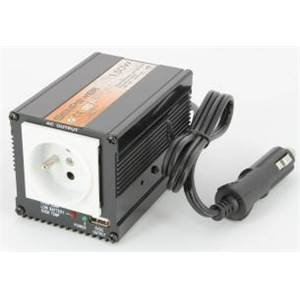 SENPOWER-CONVERTISSEUR DE TENSION 12-230V-150W+USB AVEC PRISE AL. CIGARE