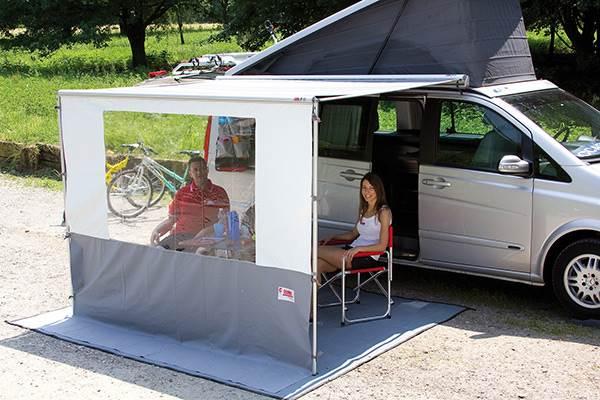 Paroi Frontale Blocker Pro De Fiamma Pour Caravanstore 440cm