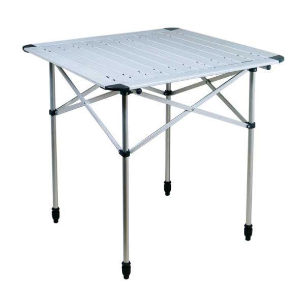 table alu enroulable duo classique 70x70cm. Black Bedroom Furniture Sets. Home Design Ideas