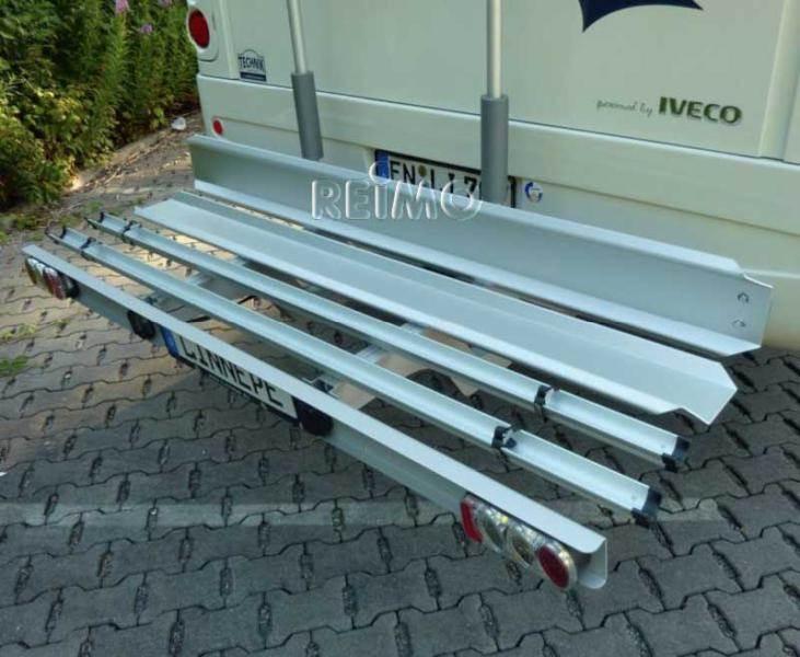 Porte moto findus pro de linnepe pour 1 moto 2 velos for Porte 4 velo camping car