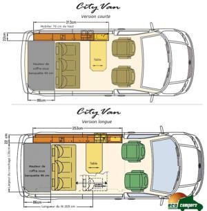Concessionnaire est des van reimo van concept - Plan amenagement transporter t4 ...