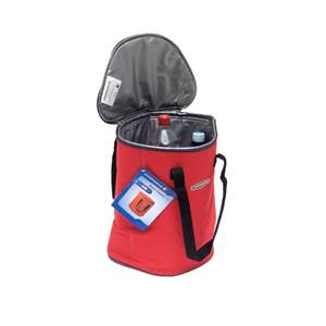 SAC ISOTHERME BASIC COOLER ROUGE - 15 L