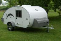 mini caravane caretta la petite caravane l g re compacte. Black Bedroom Furniture Sets. Home Design Ideas
